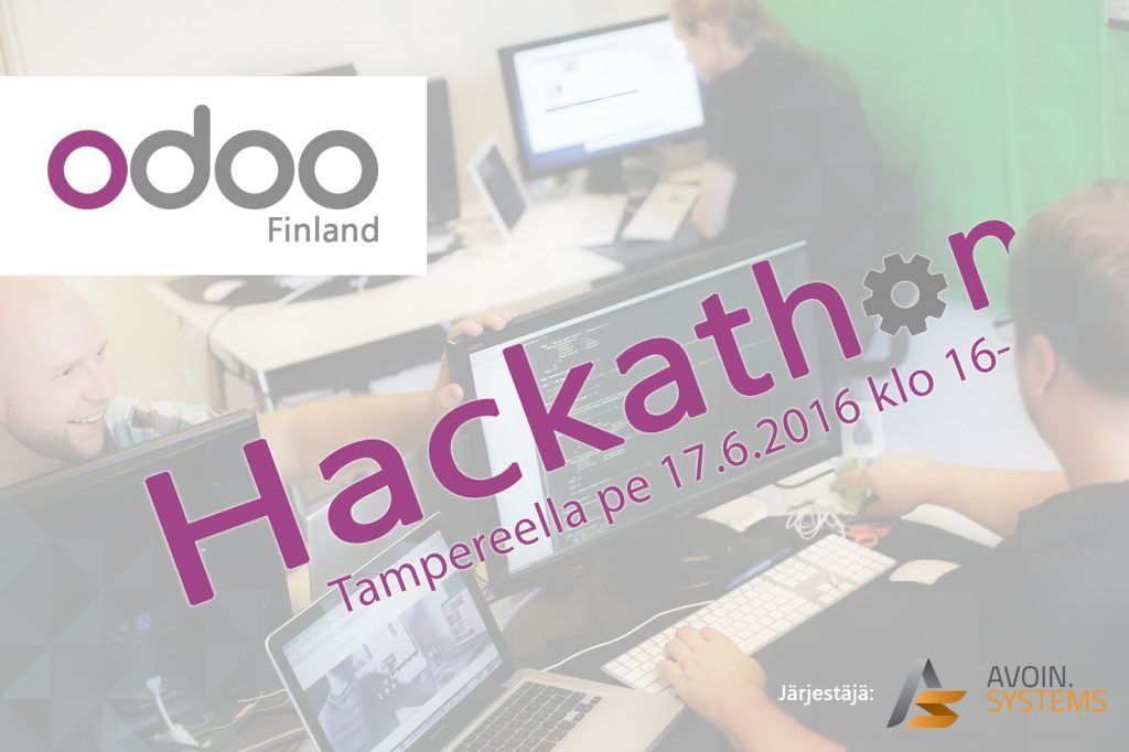 Odoo 9 Finland Hackathon -somekuva2016